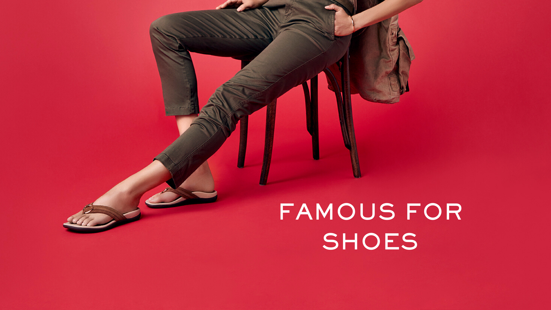 Famous for Shoes